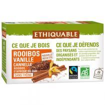 Ethiquable - Rooibos vanille BIO 20 sachets