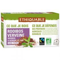 Ethiquable - Rooibos verveine BIO - 20 sachets