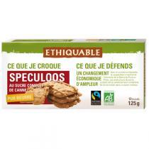 Ethiquable - Spéculoos sucre de canne pur beurre BIO 125g
