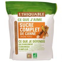 Ethiquable - Sucre complet de canne poudre Pérou 500g