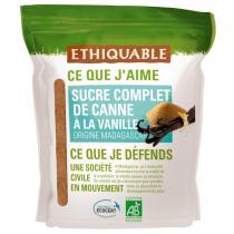 Ethiquable - Sucre complet à la vanille BIO 350g