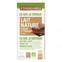 Ethiquable - Chocolat lait Pérou 100g