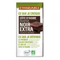 Ethiquable - Chocolat noir Extra BIO 100g