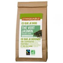Ethiquable - Thé vert jasmin Chine BIO 100g
