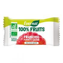 Evernat - Barre De Fruits Séchés Framboise bio 30g