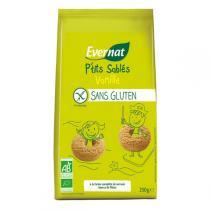 Evernat - P'tits sablés Vanille Sans Gluten 250g