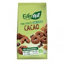 Evernat - P'tits sablés Chocolat sans gluten 250g