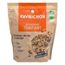Favrichon - Muesli croustillant lin & courge Bio 450 g