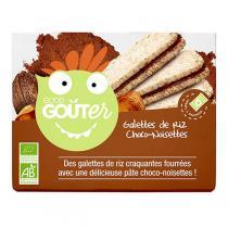 Good Gout - Boite 6 sachets galettes riz choco-noisettes 120g dès 36 mois