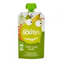 Good Gout - Gourde Poire coing vanille 120g dès 36 mois