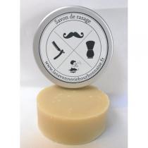 La Savonnerie Bourbonnaise - Savon de rasage au lait d'ânesse - 75g