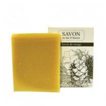La Savonnerie Bourbonnaise - Savon Douceur d'ânesse Purifiant - 100g