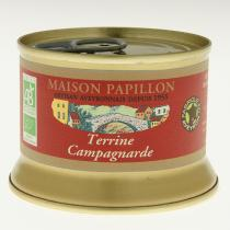 Maison Papillon - Terrine Campagnarde Pur Porc 130g