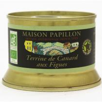 Maison Papillon - Terrine Canard Pur Volaille aux Figues 130g