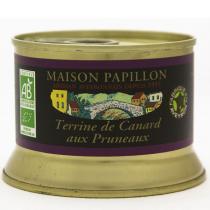 Maison Papillon - Terrine Canard Pur Volaille aux Pruneaux d'Agen 130g
