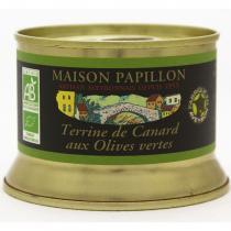 Maison Papillon - Terrine Canard Pur Volaille Fruits Rouges Champagne 130g