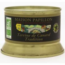 Maison Papillon - Terrine Canard Pur Volaille Tradition 130g