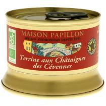 Maison Papillon - Terrine Châtaigne des Cévennes à Base de Porc 130g