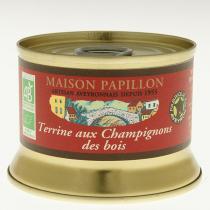 Maison Papillon - Terrine Porc aux Champignons des Bois 130g