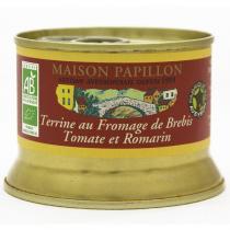 Maison Papillon - Terrine Porc Fromage de Brebis,Tomate,Romarin 130g