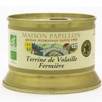 Maison Papillon - Terrine Pur Volaille Fermière 130g