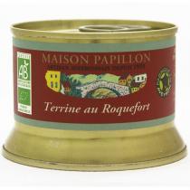 Maison Papillon - Terrine Roquefort à Base de Porc 130g