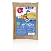 Pléniday - Soupe instantanée de légumes pauvre en sodium 18g