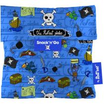 Roll Eat - Sac à gouter Snack'n'Go Pirate Bleu