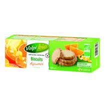 Valpibio - Biscuits agrumes Bio 120g