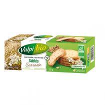 Valpibio - Sablés au sarrasin Bio 125g