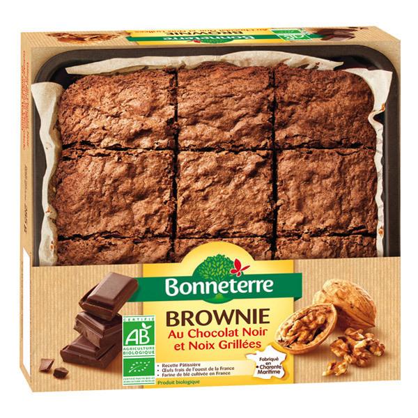 Bonneterre - Brownie au chocolat noir et noix grillées 285g