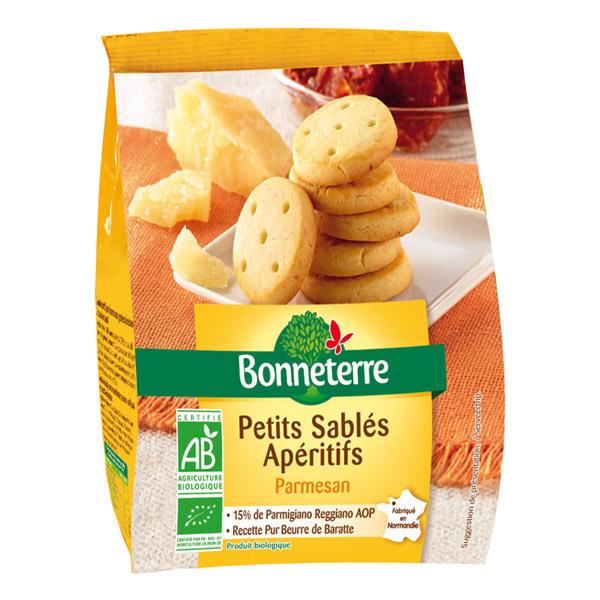 Bonneterre - Petits sablés apéritifs parmesan 90g
