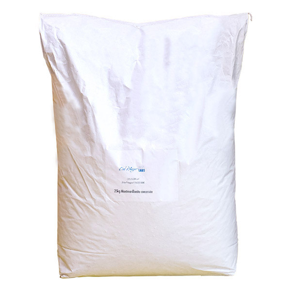 Ciel d'azur - Argile naturelle verte concassée 25kg