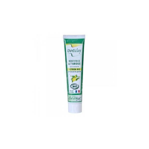 Ciel d'azur - Dentifrice Denticlay Citron Raffermissant 75ml
