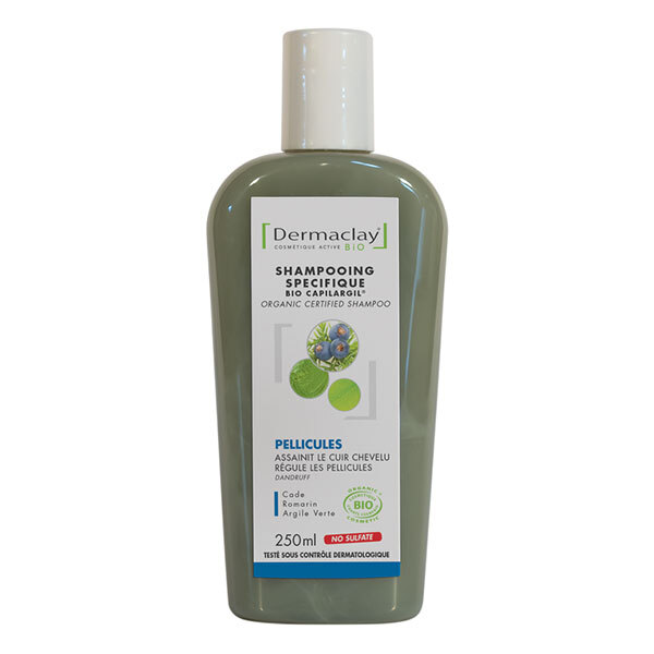 Shampooing anti pelliculaire 250ml dermaclay acheter sur for Antipelliculaire maison