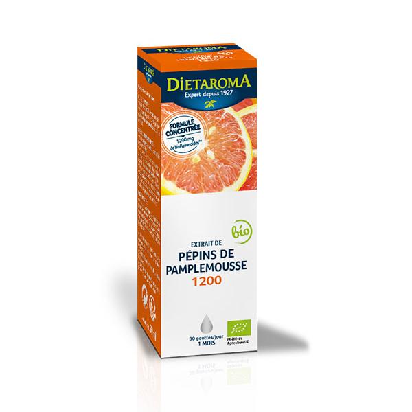 Dietaroma - Extrait de pépins de pamplemousse 1200mg - 50ml