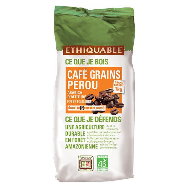 Ethiquable - Café grains Pérou 1kg