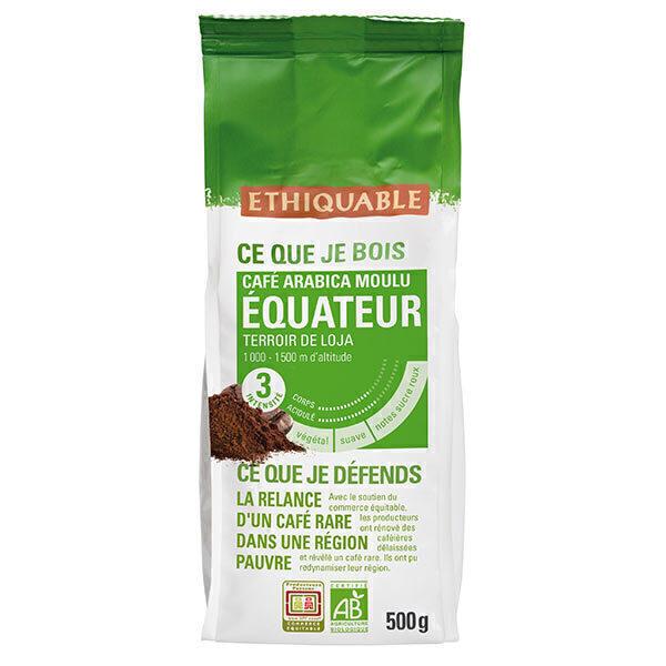 Ethiquable - Café moulu Equateur  500g