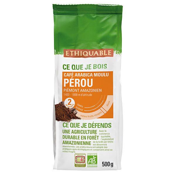 Ethiquable - Café moulu Pérou  500g