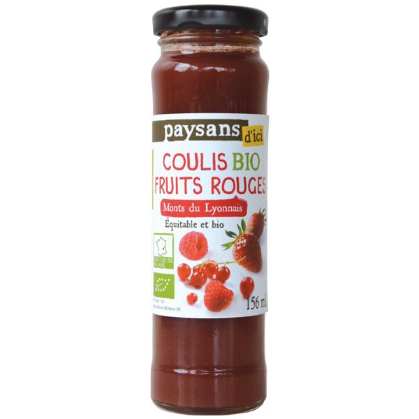 Ethiquable coulis de fruits rouges bio 156ml r f for Coulis fruits rouges surgeles