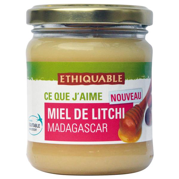 Ethiquable - Miel de litchi Madagascar 250g