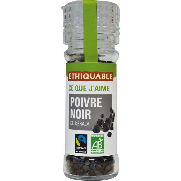 Ethiquable - Poivre noir Kérala 55g