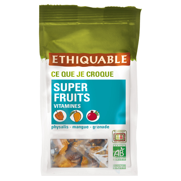 Ethiquable - Super fruits vitaminés BIO 65g