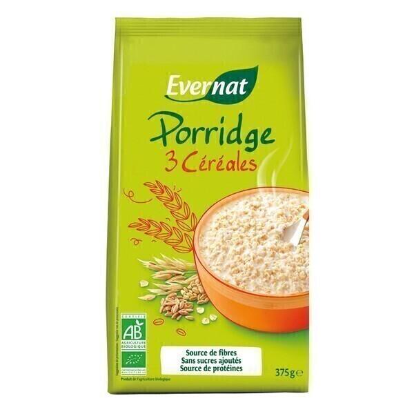 Evernat - Porridge aux céréales 375g