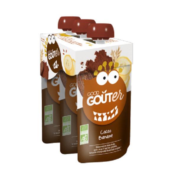 Good Gout - Cacao banane 3x120g dès 36 mois