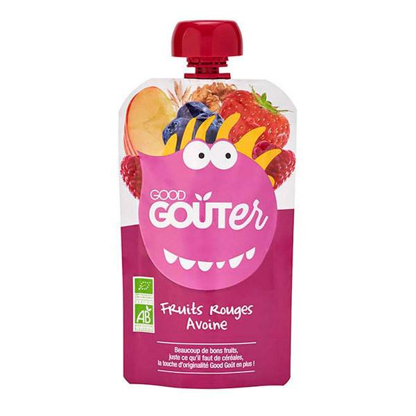 Good Gout - Gourde Fruits rouges avoine 120g dès 36 mois