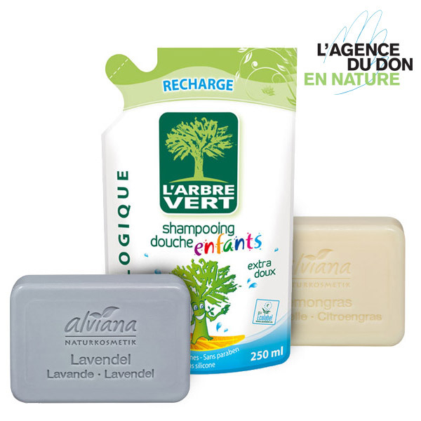 Packs don en nature - Pack don en nature Shampoing et Savons