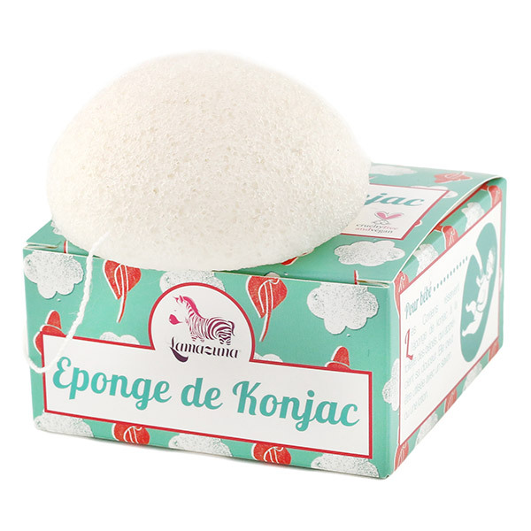 Lamazuna - Eponge De Konjac 30G - Boîte