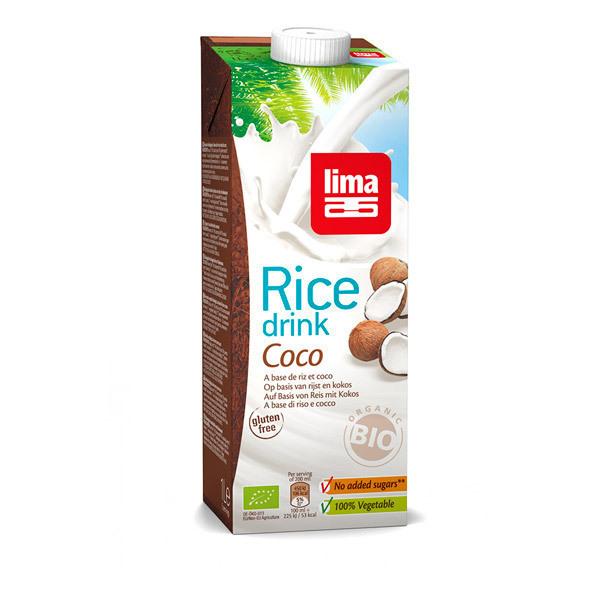 Lait de riz coco 1l lima acheter sur - Riz lait de coco ...