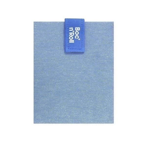 Roll'eat - Emballage sandwich Boc'n'Roll Nature Bleu